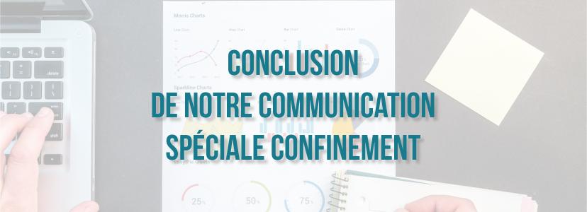 Conclusion de notre communication spéciale confinement