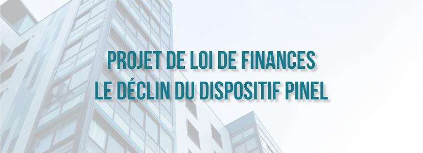 Projet de loi de finances : le déclin du dispositif Pinel