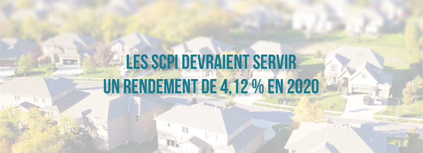 Les SCPI devraient servir un rendement de 4,12 % en 2020